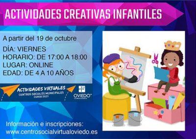 ACTIVIDADES CREATIVAS INFANTILES