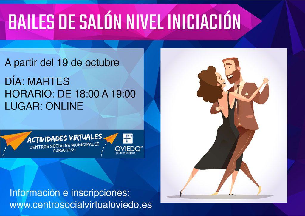 Curso de BAILES DE SALÓN NIVEL - INICIACIÓN