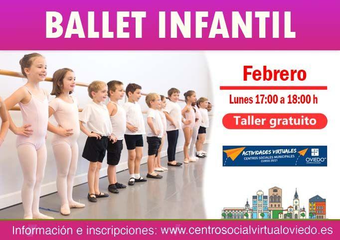 Curso de BALLET INFANTIL