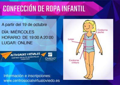 CONFECCIÓN DE ROPA INFANTIL