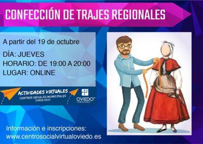 CONFECCIÓN DE TRAJES REGIONALES