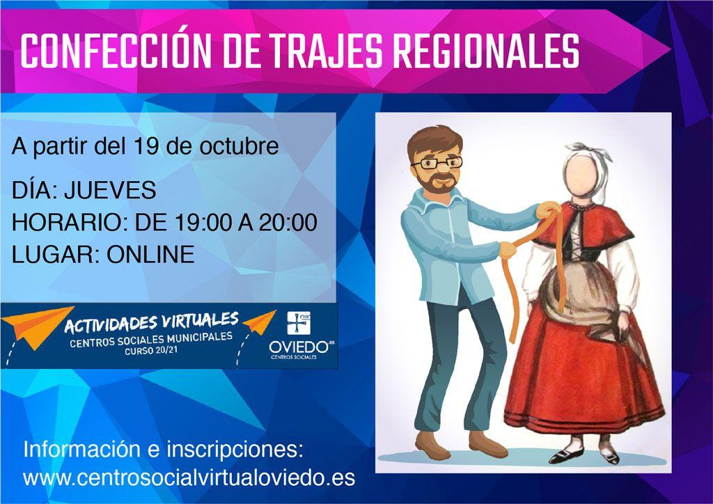 Curso de CONFECCIÓN DE TRAJES REGIONALES