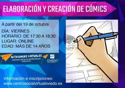 ELABORACION Y CREACIÓN DE COMICS