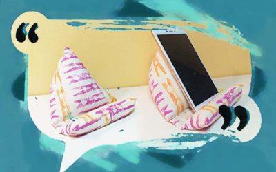 Estampar sobre textil utilizando materiales de uso doméstico