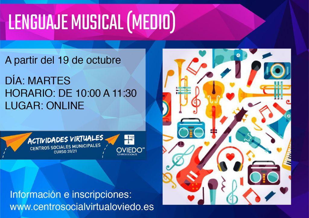 Curso de LENGUAJE MUSICAL (MEDIO)