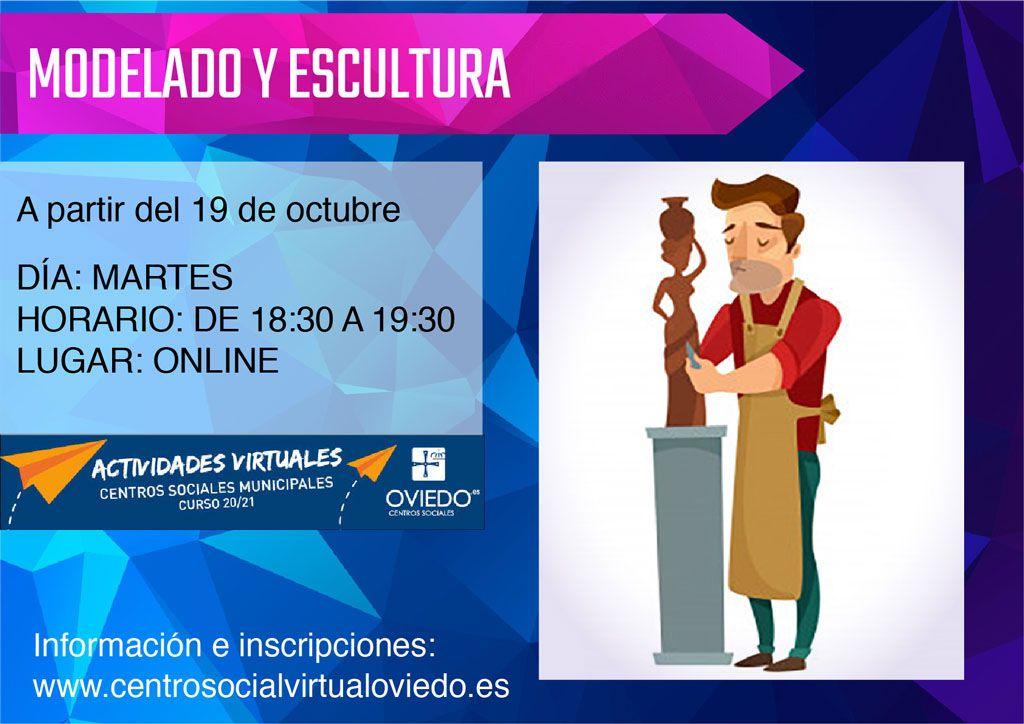 Curso de MODELADO Y ESCULTURA