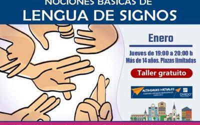 Curso de NOCIONES BÁSICAS DE LENGUA DE SIGNOS