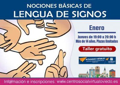 NOCIONES BÁSICAS DE LENGUA DE SIGNOS