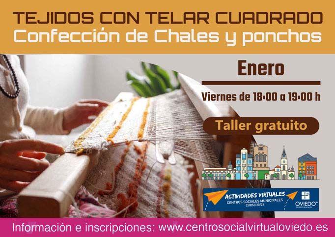 Curso de TEJIDOS CON TELAR CUADRADO