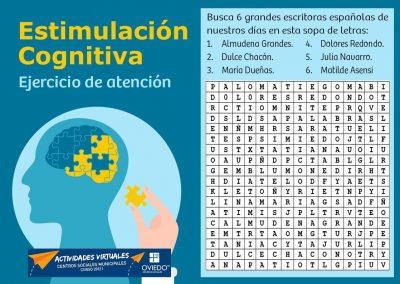 Estimulación Cognitiva Atencion 24
