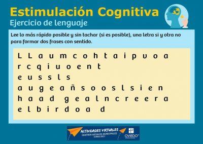 Estimulación Cognitiva Lenguaje 43