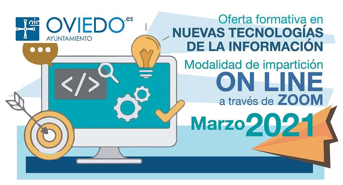 Cursos Virtuales de Nuevas Tecnologías- MARZO 2021