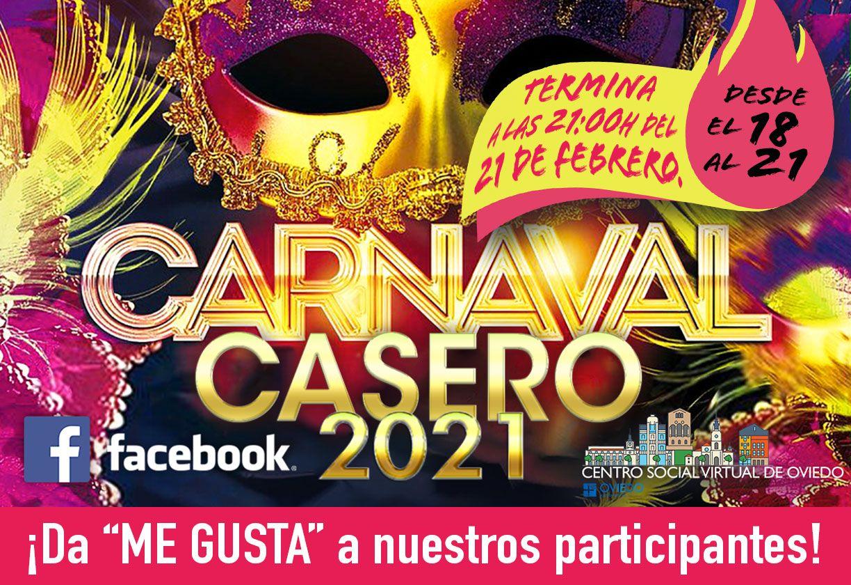"""Vota a los participantes del """"CARNAVAL CASERO 2021: disfrázate en casa"""""""