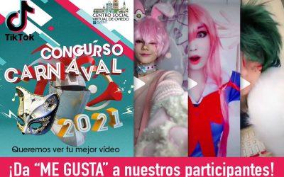 Concurso Carnaval En TIK TOK 2021 Participantes