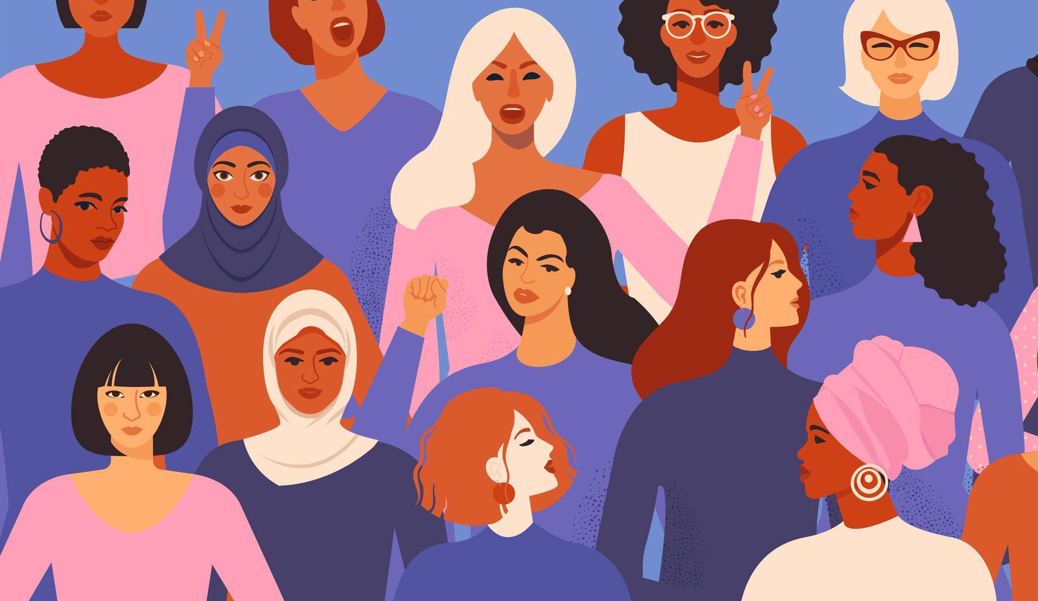 8 de marzo Día Internacional de la Mujer