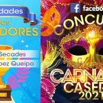 GANADORES Concurso Carnaval En FACEBOOK De Centros Sociales De Oviedo
