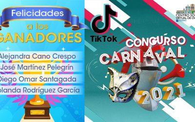 GANADORES Concurso Carnaval En TIK TOK De Centros Sociales De Oviedo