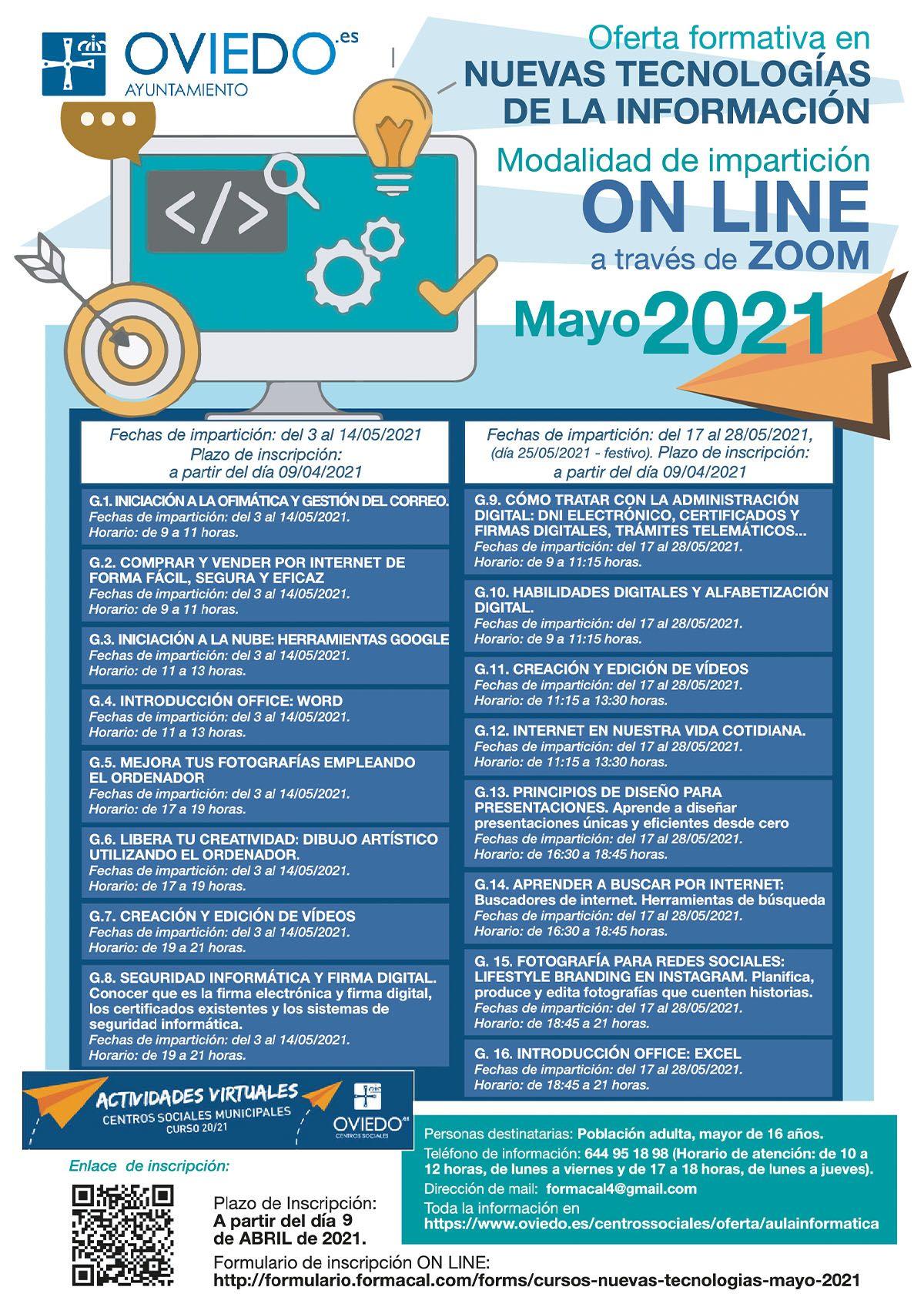 Nuevas Tecnologías 2021 Mayo