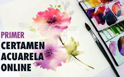 PRIMER CERTAMEN DE ACUARELA ONLINE Post